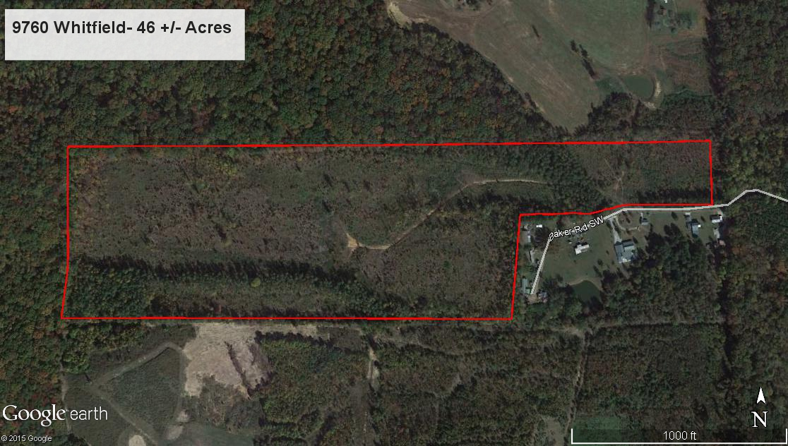 Hunting Tracts In Northwest Georgia - Hunting aerial maps